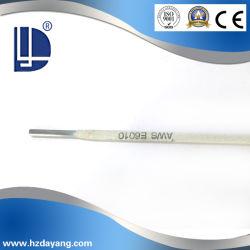 Ближнем сталь высокой Quanity E6010 углеродистой стали для сварки с маркировкой CE и сертификации ISO9001
