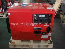 2- Air-Cooled 5 квт Protable дизельных генераторах