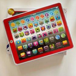 중국 공장 지적재산권 어린이 배터리 노트북 교육 완구 학습 머신 3 세 이상 아동을 위한 ABC 학습 패드