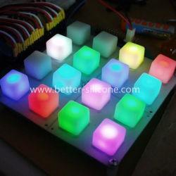 Musik-Klavier MIDI-Tasten des LED-kompatible Gummi-4X4/Auflage-Tastatur