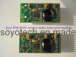 Transmissor de áudio digital sem fios 2.4GHz módulo receptor