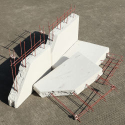 모래 기반 ALC 블록 내부 벽 단열 공기 처리된 시멘트 콘크리트 블록