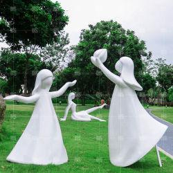 정원을%s 수지 동상 섬유유리 숫자 조각품 수지 숫자를 주문 설계하십시오
