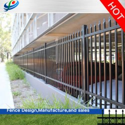 الأمن مسحوق المعدن المدلى الأسوار الحديدية للحديقة /موقع البناء /يارد/ ملعب للأطفال