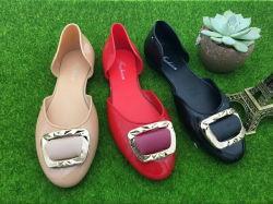 Mode de gelée en PVC Lady Chaussures femmes sandale
