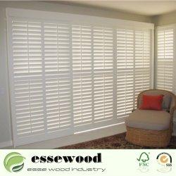 환경 친절한 가정 장식 실내 PVC는 코너 셔터 Windows를 셔터를 닫는다