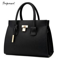 تصميم جديد المرأة حقائب اليد مقبض علوي حقائب النسائية الجلدية حقيبة اليد