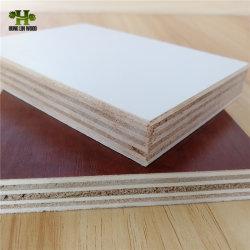 Sin Pintura 12mm para los muebles de madera contrachapada de melamina