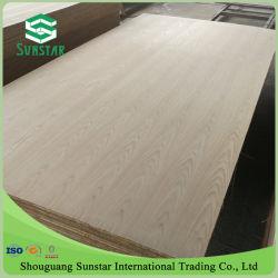 AA/AAA grau folheado de madeira natural de carvalho vermelho/branco Oak enfrentados/Compensado de madeira laminada para mobiliário e decoração