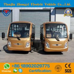 Zhongyi 14 de Pendel die van de Toerist van het Nut van Zetels Elektrische Auto met Verwarmer en Airconditioning bezienswaardigheden bezoeken