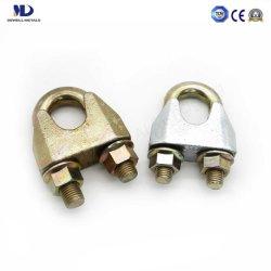 電気亜鉛めっき 可鍛ワイヤロープクリップユニ EN 13411-5