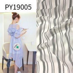 Py19005 шелк как Cationic полиэфирная ткань шифон для одежды