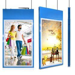 affissione a cristalli liquidi Android della rete del doppio del lato di 43inch 49inch 55inch contrassegno dell'affissione a cristalli liquidi Digital che fa pubblicità al giocatore