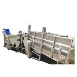 China el lavado de granos de maíz dulce enlatado de alimentos enlatados máquina