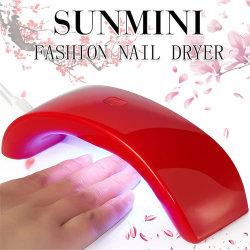 La moda de uñas de gel UV mini secador de curado para el cuidado personal