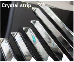 Faixa de cristal Crystal lustre de cristal Cristal Acessórios pendente pendente de Fractius de vidro da lâmpada