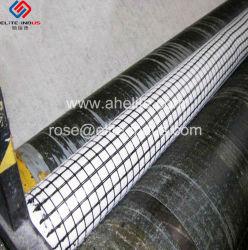 アスファルト上塗を施してある補強のガラス繊維GeogridおよびGeotextileの排水の合成物