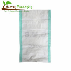 25kg 50kg de couleur blanche de haute qualité plastique polypropylène PP sacs tissés pour les grains de la farine de riz