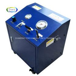 Terek 휴대용 물 또는 유압 액체정역학 압력 시험 펌프 공기 구동 통제 단위
