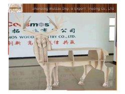 Un excelente grado de álamos Core de chapa de abedul el contrachapado para muebles y artesanía