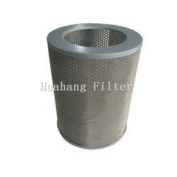 Cilindro personalizados de malha de metal do cartucho do filtro de ar do coletor de pó para máquina de granalhagem