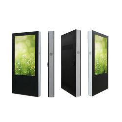 Piscina 75pulgadas de pantalla LCD táctil interactiva Reproductor de publicidad