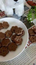 Ente-Apple-Biskuit-Hundereine natürliche Imbiss-Nahrung für Haustiere