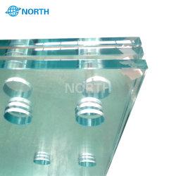 高品質の明確な安全緩和されたガラスの価格(3mm 4mm 5mm 6mm 8mm 10mm 12mm 15mm 19mm