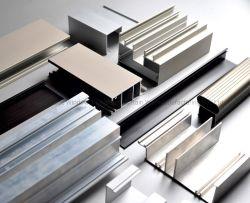 건축 & 산업 알루미늄 또는 알루미늄 Windows 의 문, 외벽 밀어남 단면도