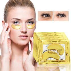 Mascherina antinvecchiamento dell'oro di cura 24K dell'occhio delle estetiche