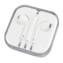 Bunter 3.5mm Stereolithographie Earpods Kopfhörer mit Mic u. Lautstärkeregler für iPhone X Kopfhörer 8 7