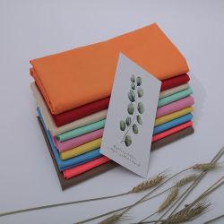Flor de tela de algodón impresión normal de los hombres y mujeres camiseta de algodón tejido