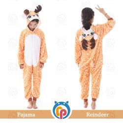 Fabriek in het Kostuum van Kerstmis van de Pyjama's van het Rendier van de Voorraad