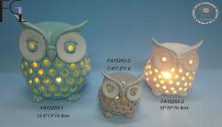간단한 Creative Ceramic Owl, Home 또는 Office/Desk Decoration
