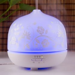 Cerámica Perfumado Aceite Esencial de difusor de aroma de flores