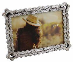 カスタム美しい女の子の影の金属のクラフトの装飾の写真か額縁(016)