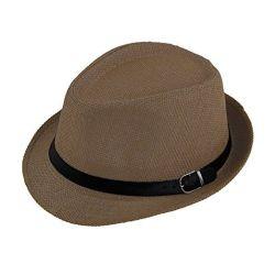 Sombrero Fedora hombres de la moda de verano en la playa de papel personalizado sombrero de paja