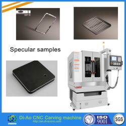 Hochgeschwindigkeits-CNC-Spiegelmaschine verwendet für Schlüssel, Kamera-Loch, Acryldekoration-Teile, CNC, der Mitte aufbereitet