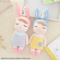 La peluche della bambola gioca il pendente molle Keychain del coniglio del Angela dei giocattoli delle ragazze dei capretti