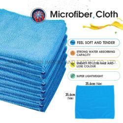 Voiture à usages multiples de cuisine et vaisselle Chiffon de nettoyage en microfibre propre