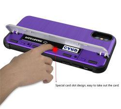 Держатель карты высокая производительность оболочки защиты противоударная защитник Anti-Scratch мягкие резиновые бампер чехол для iPhone Xs