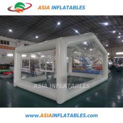 Draagbare opblaasbare cabine voor auto's met spuitspuiten