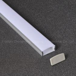 LED 지구 표시등 막대를 위한 유연한 LED 알루미늄 단면도 채널 PVC