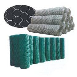Rete metallica saldata ricoperta PVC verde che recinta, rete metallica dell'Olanda