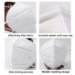 Respirator-Schutz-Gesichtsbehandlung-Schablone des Hochschulschnelle Versand-KN95
