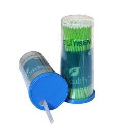 医薬品の使い捨て可能なプラスチック歯科マイクロアプリケーターのブラシ