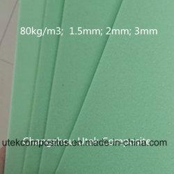 Espessura de 1,5mm de espuma de PVC rígido para o Prédio de barco
