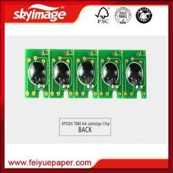 Продажи с возможностью горячей замены картриджа с чернилами чип для Epson 4880/7880/9880 струйных принтеров