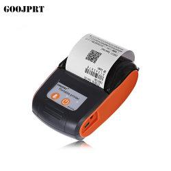 싼 열 영수증 종이 58mm 소형 휴대용 Bluetooth 열 인쇄 기계 (PT-210)