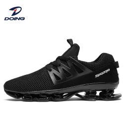Nouveau mode de qualité supérieure de la Chine usine meilleur logo personnalisée OEM Mesh marque occasionnels hommes Sneakers exécutant chaussures de sport d'air de lame